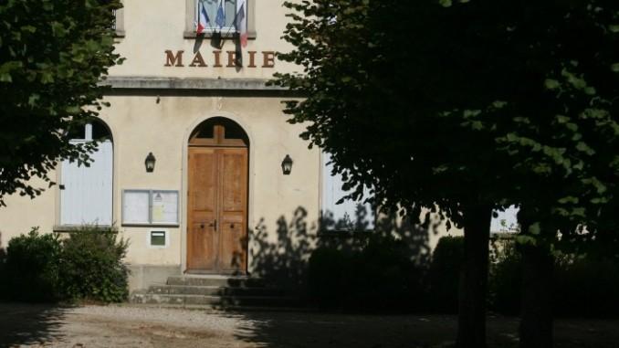 La mairie de Chaussy (95)