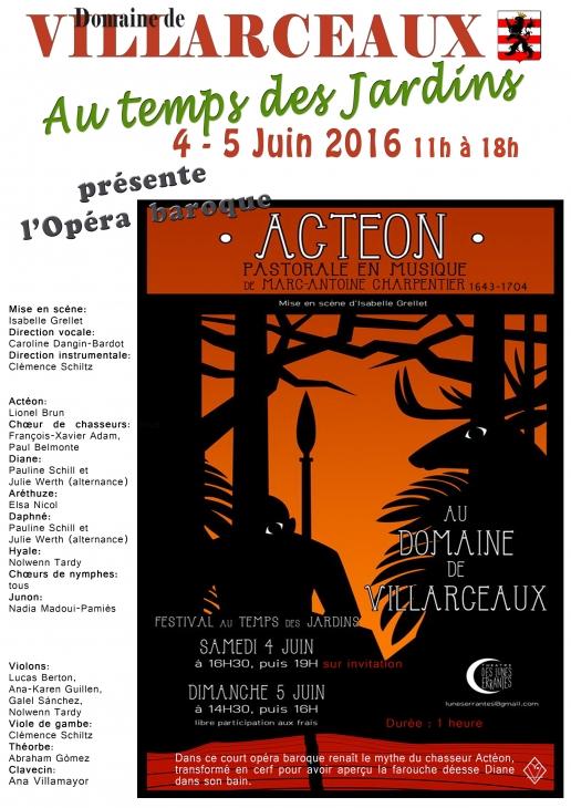 Affiche Actéon