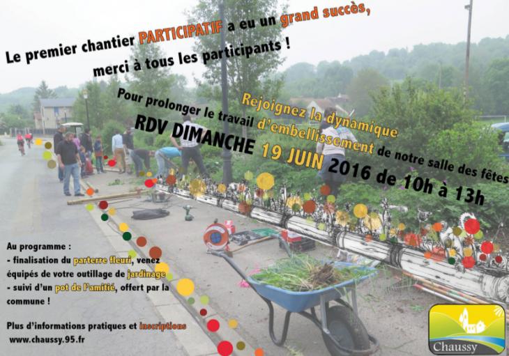 Chantier participatif 2eme edition