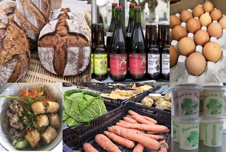 Tous les 2ème dimanches du mois,  marché de producteurs à Chaussy.